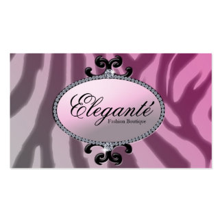 Diva pink Double-Sided standard business cards (Pack of 100)