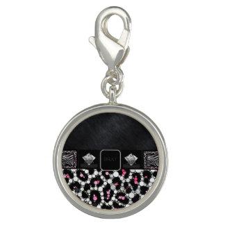 Diva Pink Cheetah Brat Diamonds