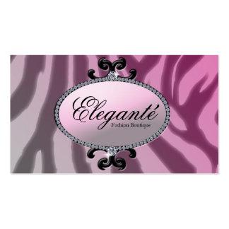 Diva pink pack of standard business cards