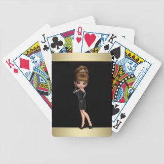 Diva Princess Bicycle Playing Cards