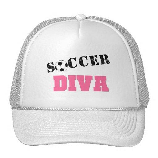 Diva Soccer Mesh Hat