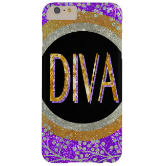 Diva Sparkle Barely There iPhone 6 Plus Case