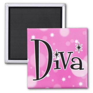 Diva square magnet