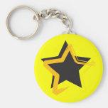 Diva Star Keychain