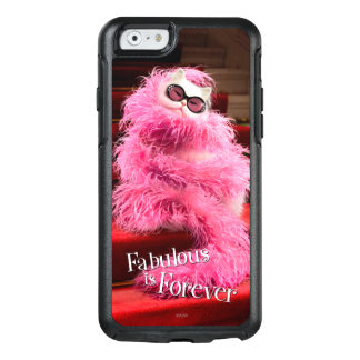 Diva White Cat Wrapped in Pink Boa on Red Carpet OtterBox iPhone 6/6s Case