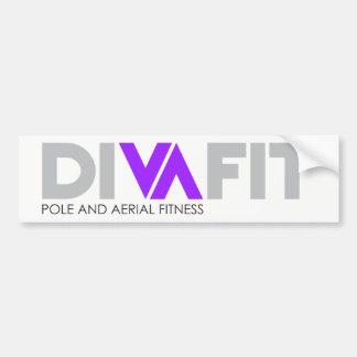 DivaFit Bumper Sticker (Light)