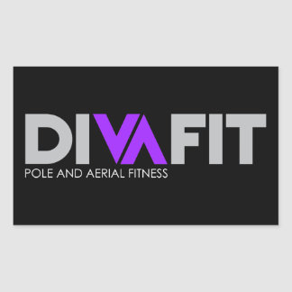 DivaFit Sticker (Dark)