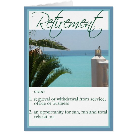 Diva's Congratulations on Your Retirement Card