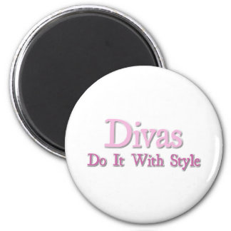 Divas Do It With Style Magnet