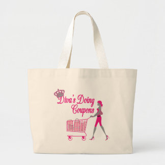 Diva's Does Coupons Jumbo Tote Bag