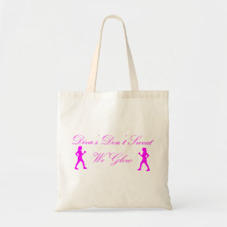 Diva's Don't Sweat Tote Bags