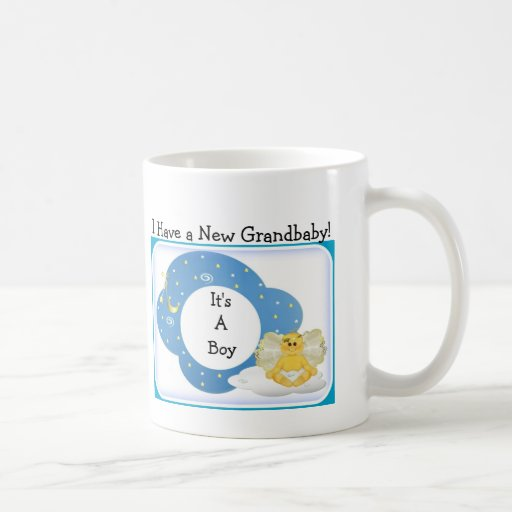 Baby Gifts For New Grandparents : Diva s gift for new grandparents it a boy mugs zazzle