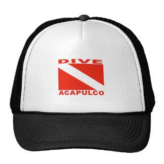 Dive Acapulco, Mexico Mesh Hats