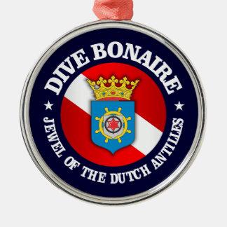 Dive Bonaire (rd) Christmas Ornament