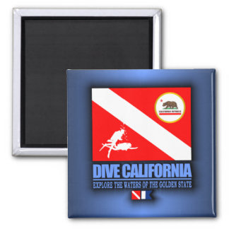 Dive California Magnet
