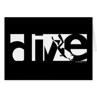 Dive Card
