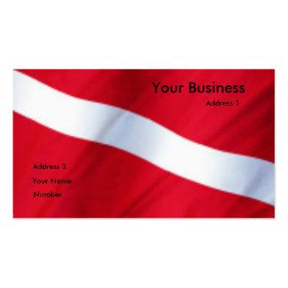 Dive Club Card Business Card Templates