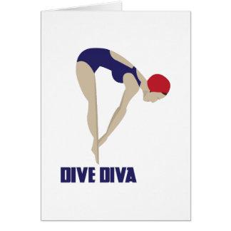Dive Diva Card