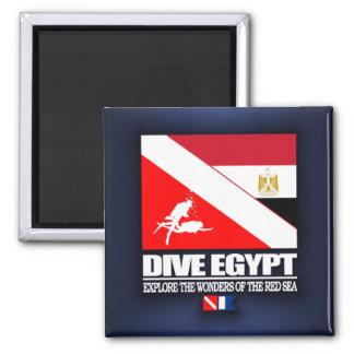 Dive Egypt Square Magnet