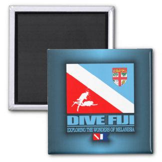 Dive Fiji Square Magnet