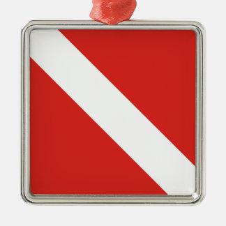 Dive Flag Christmas Ornament