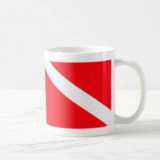 Dive Flag Coffee Mug