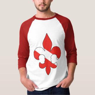 Dive Flag Fleur de lis Shirt