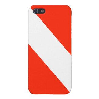 Dive Flag iPhone 4 Case
