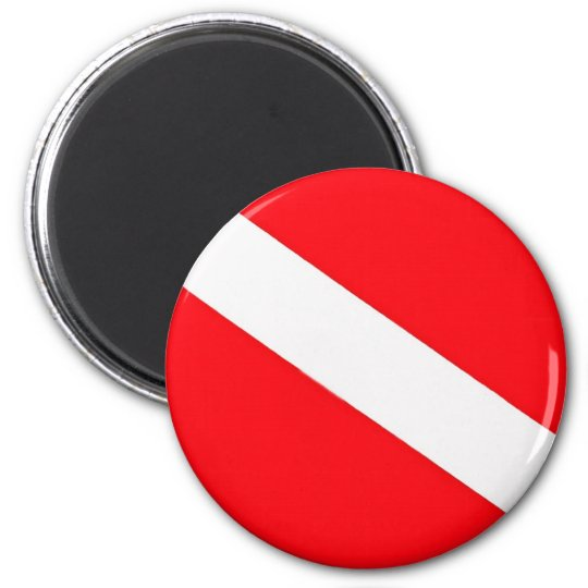 Dive Flag Magnet