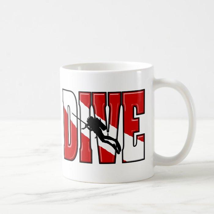 Dive Flag Mugs