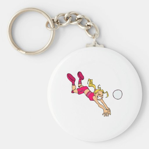 Dive for it key chain