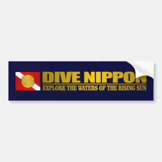 Dive Nippon Bumper Sticker