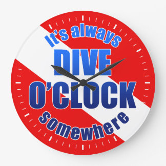 Dive O'Clock Clocks