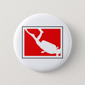 Dive Symbol 6 Cm Round Badge