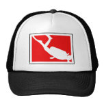 Dive Symbol Trucker Hat
