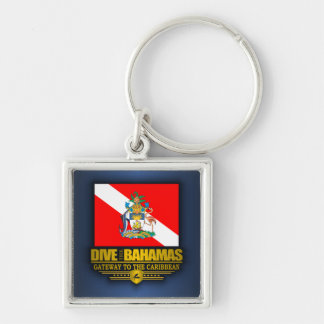 Dive the Bahamas 2 Key Ring