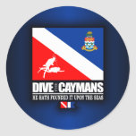 Dive The Caymans Stickers