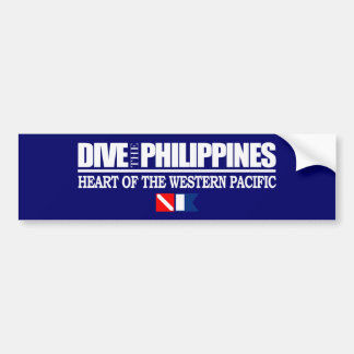 Dive the Philippines Bumper Sticker