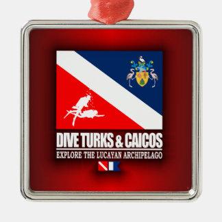Dive Turks & Caicos Christmas Ornament