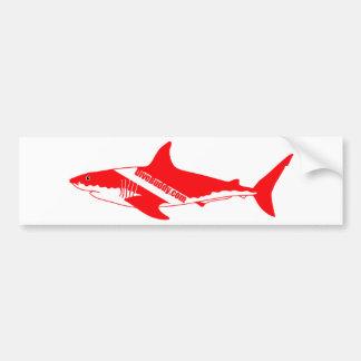 DiveBuddy.com Shark Sticker Bumper Sticker