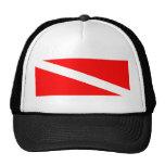 Diver Below Flag Trucker Cap Trucker Hat