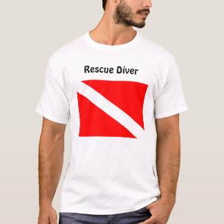Diver Below Rescue Diver T Shirt