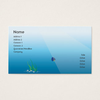 Diver - Business Business Card