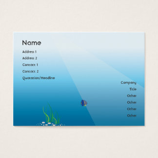 Diver - Chubby Business Card