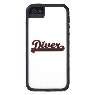 Diver Classic Job Design Tough Xtreme iPhone 5 Case