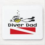 Diver Dad Muis Matten