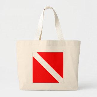 Diver Down Classic Flag Canvas Bags