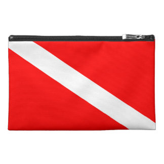 Diver Down Flag Travel Accessory Bag
