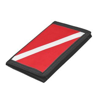 Diver Down Flag Wallet