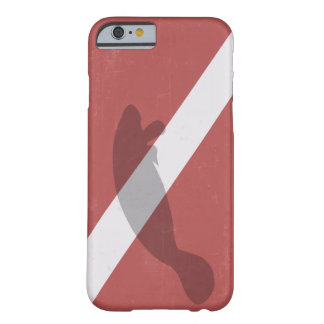 Diver Down Flag With Manatee Barely There iPhone 6 Case